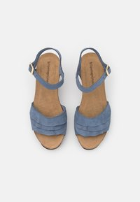 Copenhagen Shoes - ELVIRA  - Platform sandals - jeans blue - 5