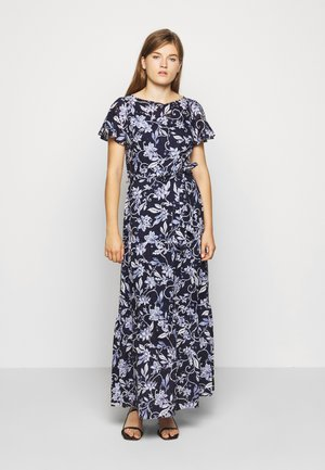 GAZEBO GARDN EYELET DRESS - Maxiklänning - navy
