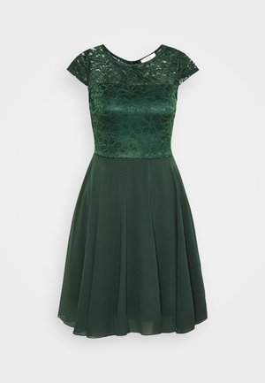 PEYTON SKATER DRESS - Robe de soirée - forest green