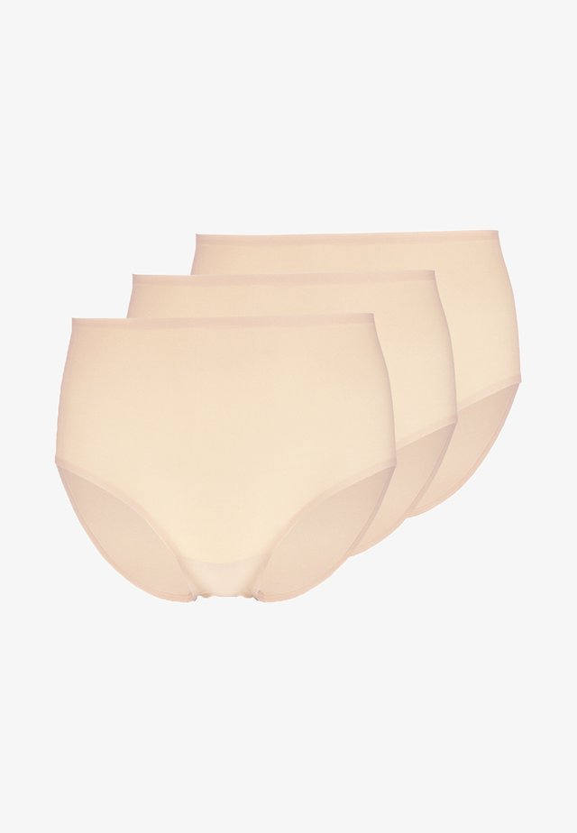 SOFTSTRETCH 3 PACK - Slip - nude