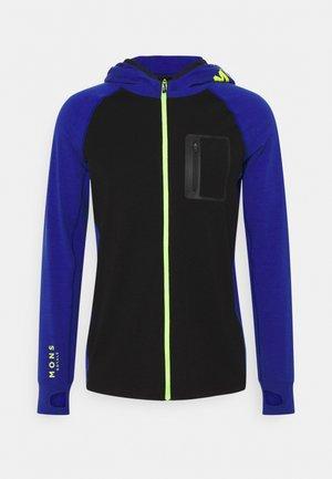 TRAVERSE FULL ZIP HOOD - Trainingsjacke - ultra blue/black
