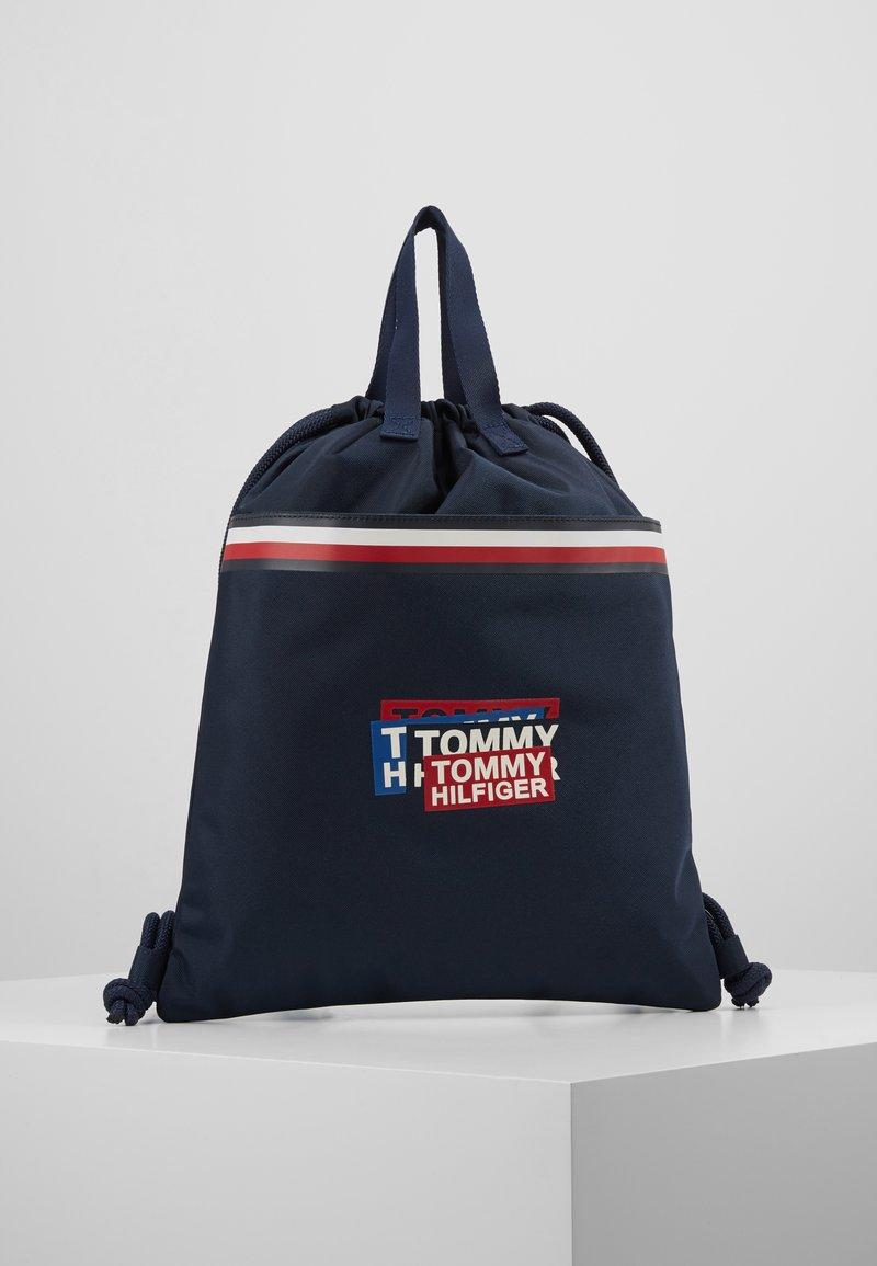 Tommy Hilfiger - KIDS CORP DRAWSTRING BACKPACK - Sportovní taška - blue