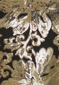 Twisted Tailor - FARBER JACKET - Suit jacket - black/gold - 2