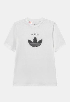 ADICOLOR LOOSE UNISEX - T-shirt print - white