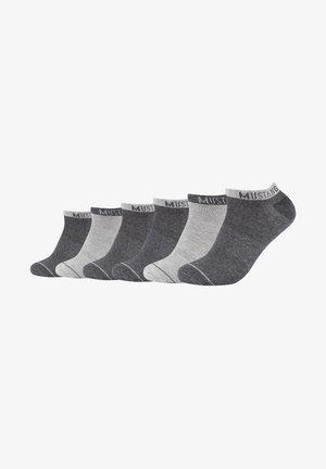 6ER-PACK - Socks - dark grey mix