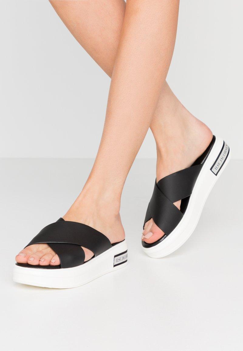Ilse Jacobsen - DAISY - Pantofle - black