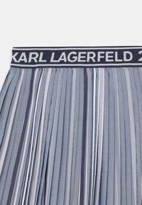 KARL LAGERFELD - Pleated skirt - chambray - 2