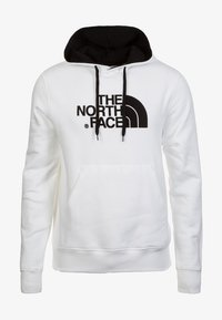 The North Face - DREW PEAK HOODIE - Hoodie - white/black - 0