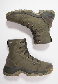 Columbia - CAMDEN OUTDRY CHUKKA - Hiking shoes - nori/grey - 1