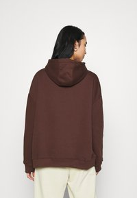 Nly by Nelly - OVERSIZED HOODIE - Sweat à capuche - brown - 2
