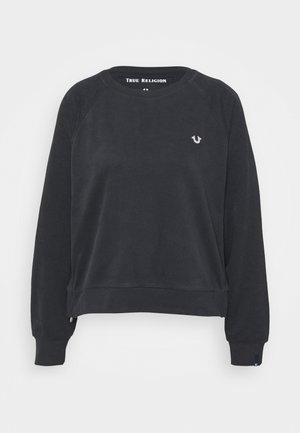 CREWNECK HORSESHOE - Collegepaita - black