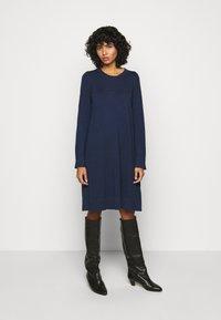 Repeat - DRESS - Jumper dress - dark blue - 0