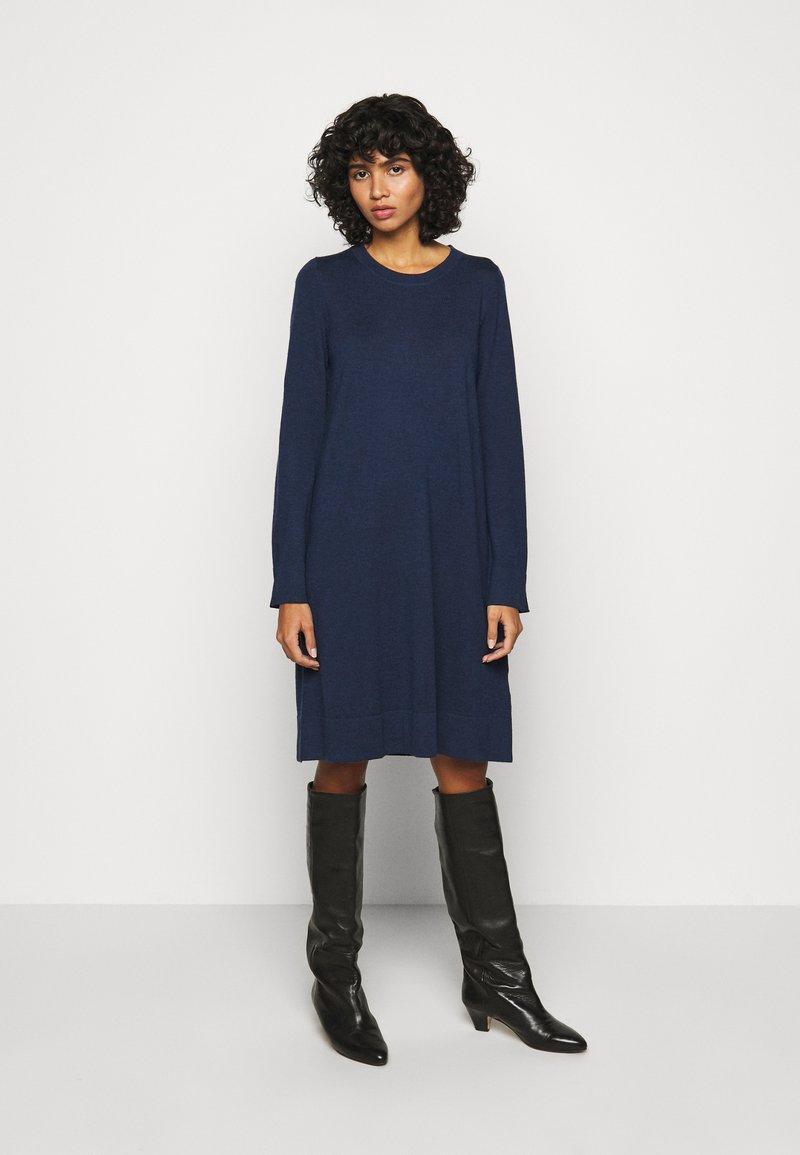 Repeat - DRESS - Jumper dress - dark blue