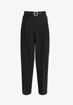 HIMARA - Trousers - black