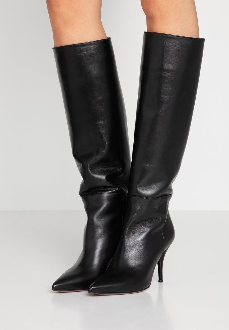 L'Autre Chose - High heeled boots - black