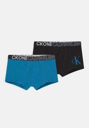 TRUNKS 2 PACK - Pants - black/blue