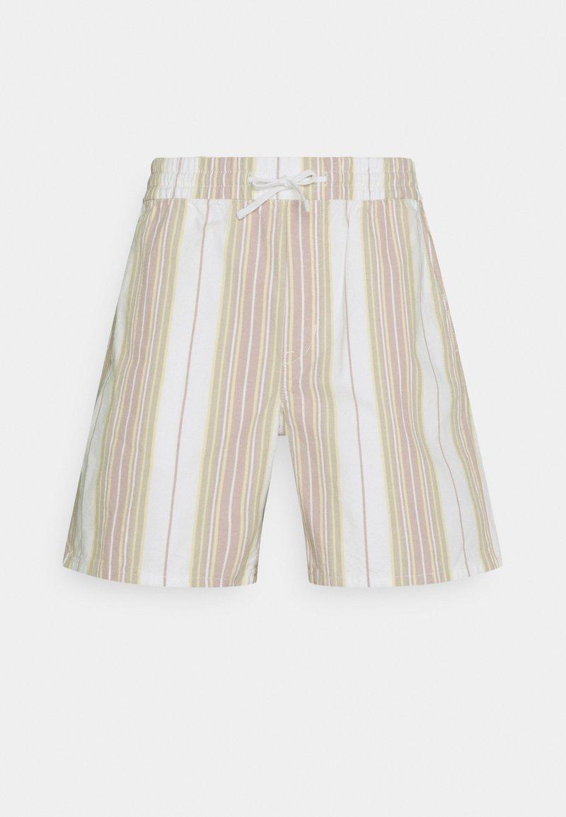 Weekday - OLSEN STRIPED - Shorts - yellow