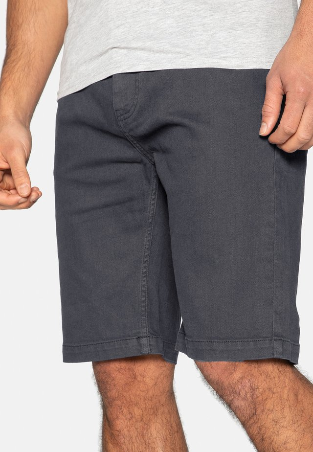 Shorts di jeans - charcoal