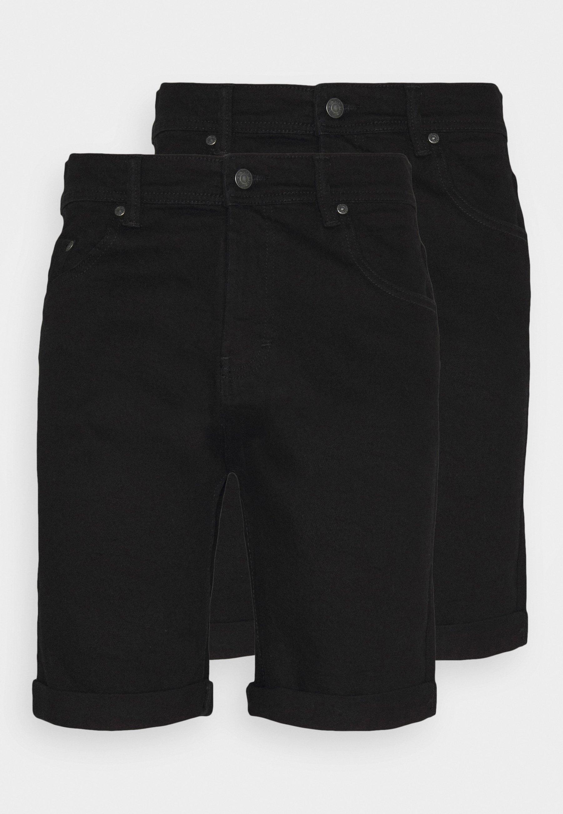 Men MR ORANGE 2 PACK - Denim shorts