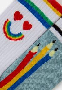 Happy Socks - PEN SOCK UNISEX 2 PACK - Socks - blue/white - 1