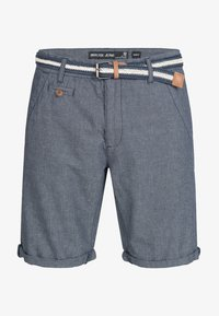 INDICODE JEANS - CASUAL FIT - Shorts - blue denim - 4