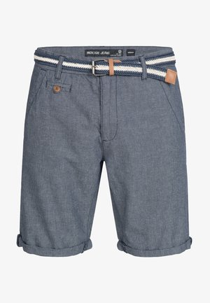 CASUAL FIT - Shorts - blue denim
