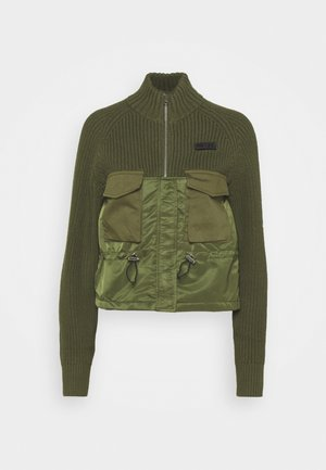 EKA  - Strikjakke /Cardigans - military green