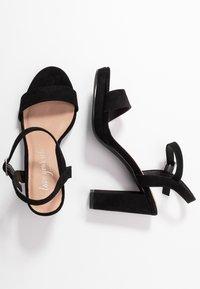 New Look - QUEEN - Sandály na vysokém podpatku - black - 3