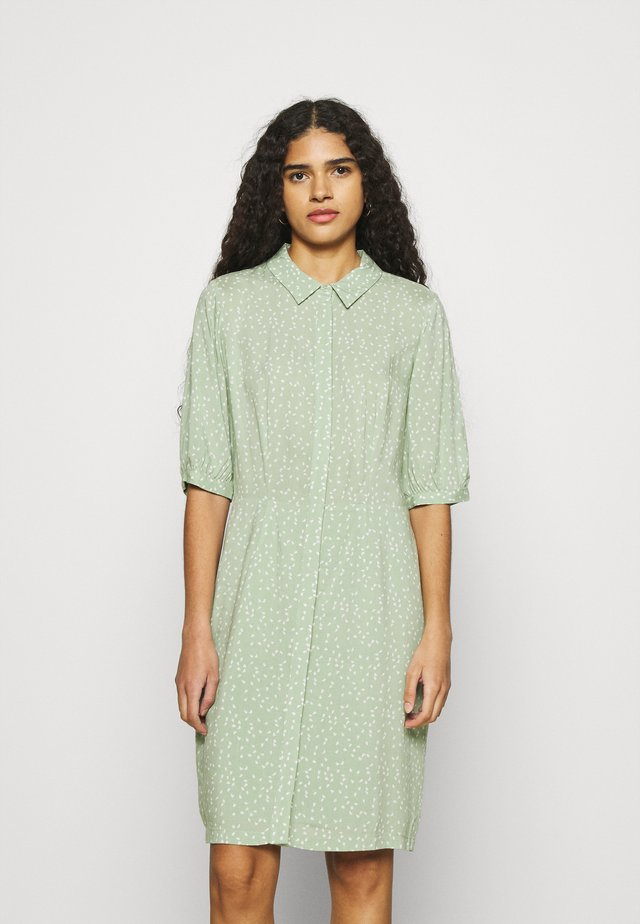 SAGINE DRESS - Shirt dress - green