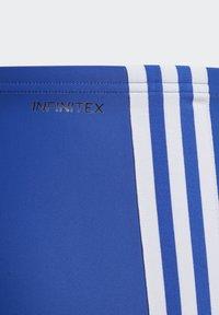 adidas Performance - FIT 3 STRIPES PRIMEBLUE BOXER SWIM TRUNKS - Swimming trunks - blue - 4