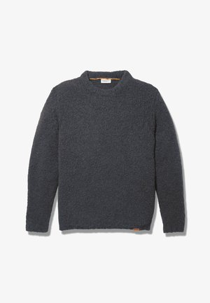 LS SOUCOOK RIVER  - Jersey de punto - dark grey heather
