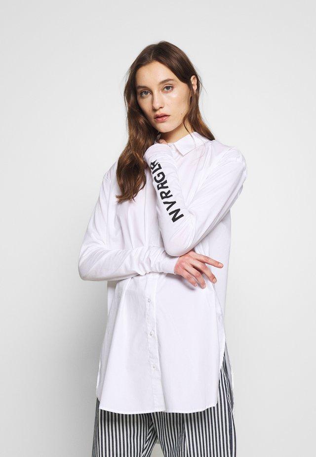 TUNIC DRESS - Blousejurk - white
