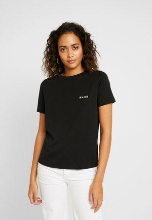 CHEST LOGO - T-shirt print - black