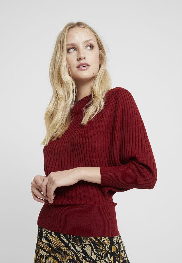 Pullover - biking red