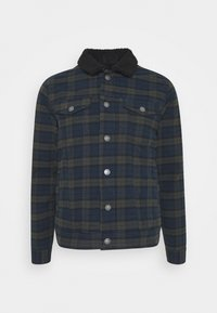 JONES JACKET - Denim jacket - dark olive