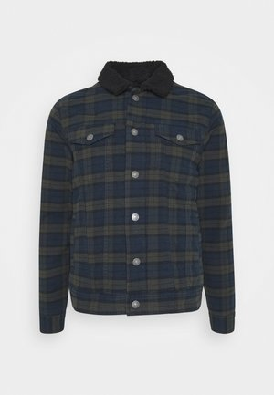 JONES JACKET - Spijkerjas - dark olive