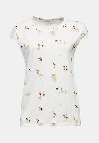 Esprit - T-shirt z nadrukiem - off white - 7