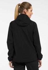 Haglöfs - BUTEO JACKET - Hardshell jacket - true black - 1