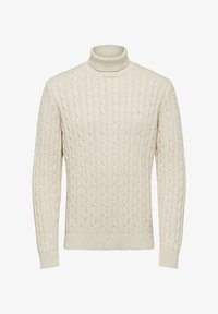 Selected Homme - Pullover - bone white - 5