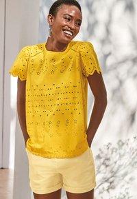 Next - Blouse - yellow - 1