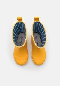 Finkid - VESI UNISEX - Bottes en caoutchouc - yellow - 3