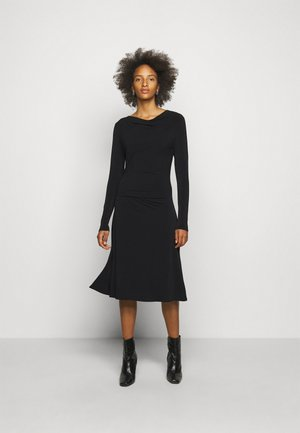 JUANNA - Jersey dress - black