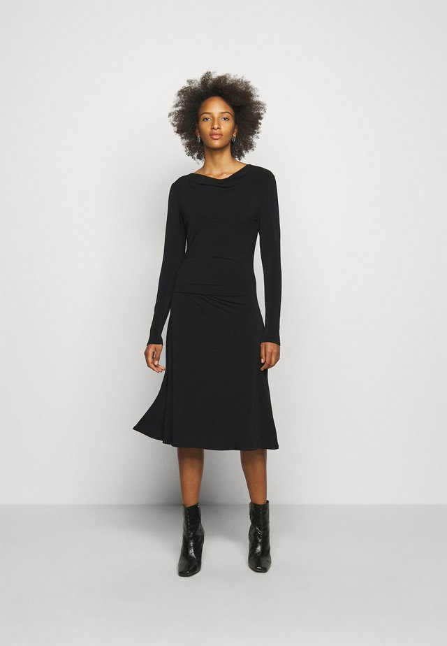 JUANNA - Vestito di maglina - black