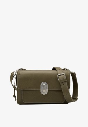 JOAN - Across body bag - umber green