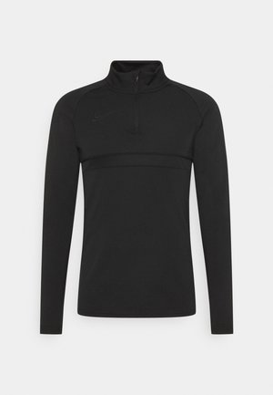 Fleece jumper - black