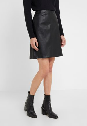 BIMARA - A-line skirt - black