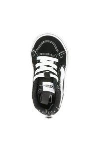 Vans - VANS FILMORE HI ZIP UNISEX KINDER SNEAKER - Sneakers hoog - zwart - 1