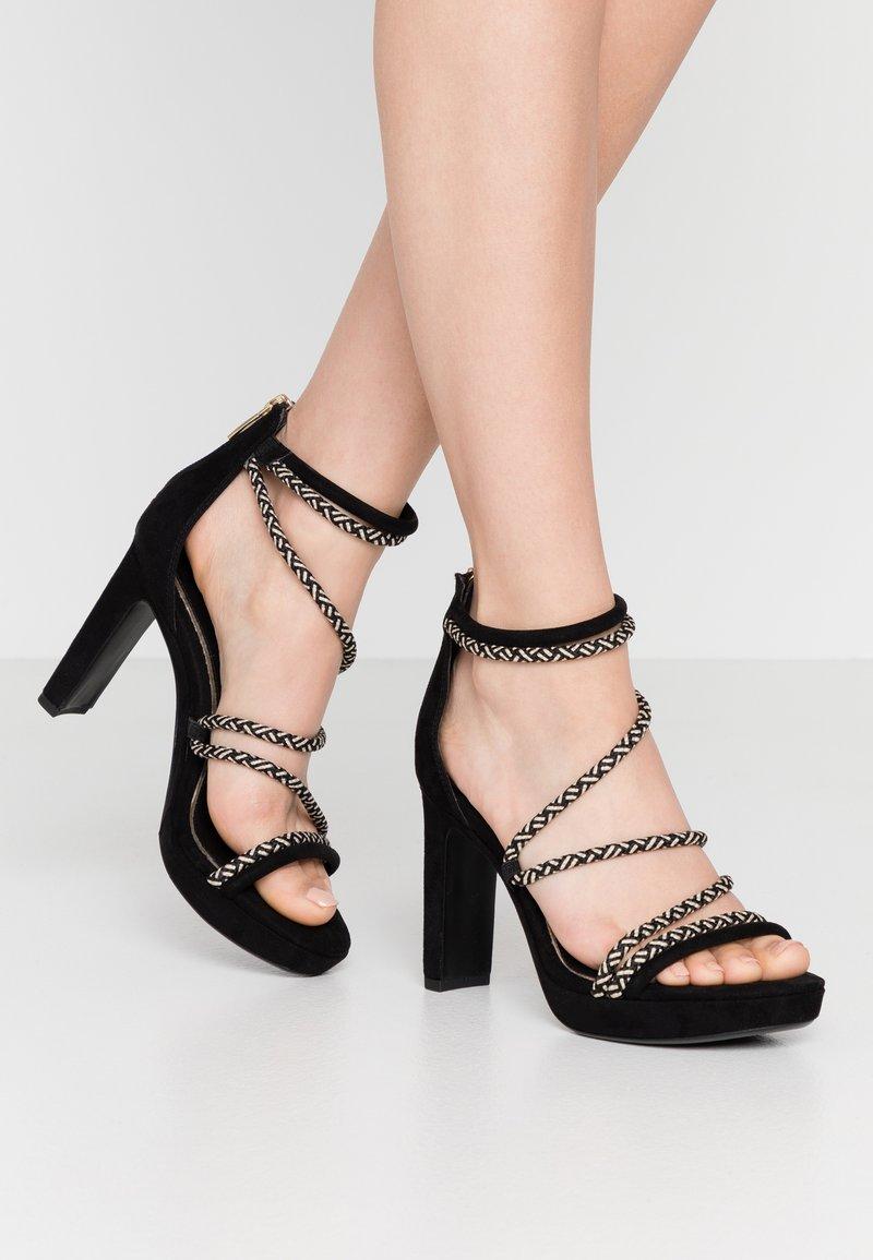 Tamaris - High heeled sandals - black