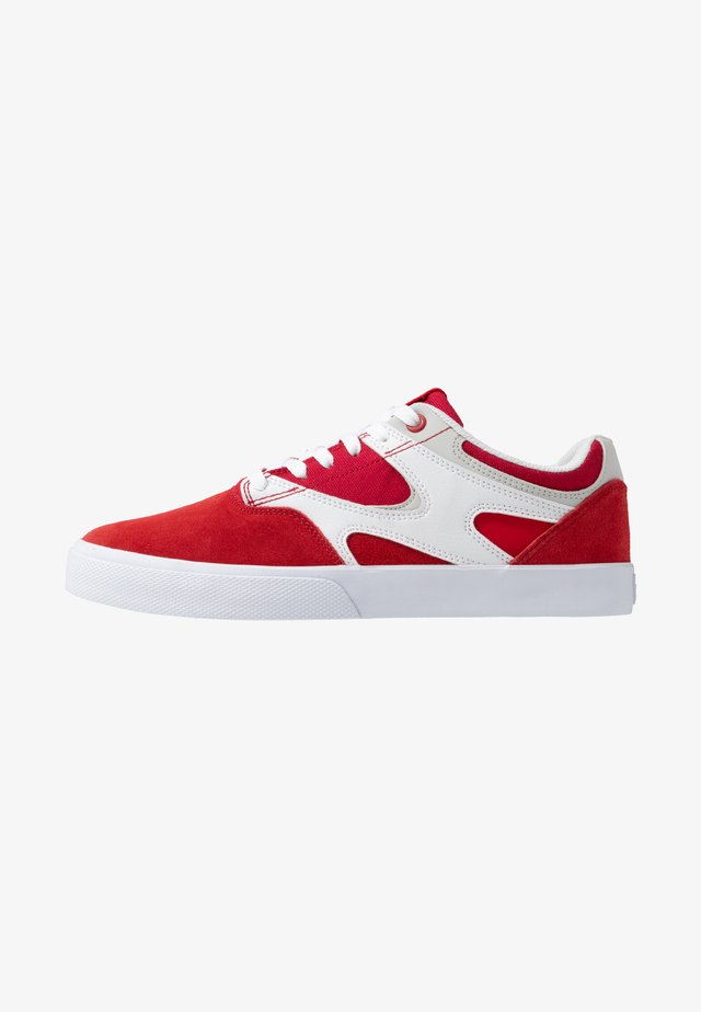 KALIS VULC - Skate shoes - red/white