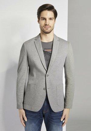 Blazer jacket - middle grey mélange